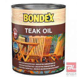 BONDEX TEAK OIL 900 SZÍNTELEN 0.75L