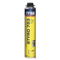 Styro 753 O2 ragasztó pisztolyos, polisztirol ragasztóhab 750 ml