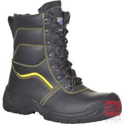 Steelite szőrmebéléses védőbakancs, S3 CI 37 FW05BKR37