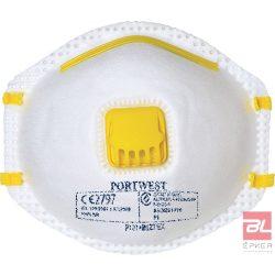 FFP1 szelepes porálarc (10 db) - P101WHR