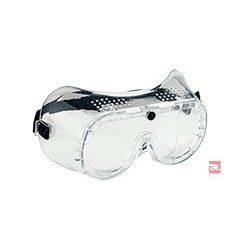 Gumipántos (direkt ventilációs) védőszemüveg - PW20CLR