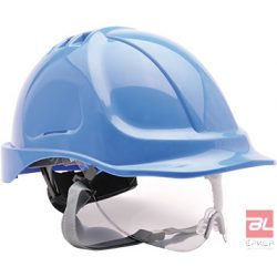 Védősisak védőszemüveggel kombinált - PW55RBR