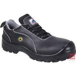 Compositelite ESD félcipő, bőr felsőrésszel, S1 37 FC02BKR37