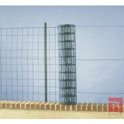 DECOMET 60 PVC bevonatos fémháló 0,6 x 10 m zöld