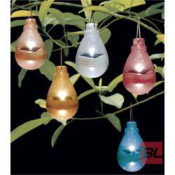 FIREFLY színes, napelemes lámpás Ø 7 cm vegyes