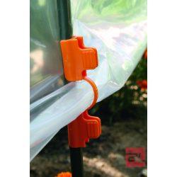 CLIPS TUTEURS klipsz fólia rögzítéséhez ø 13 mm narancssárga
