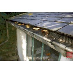 LEAFPROTEC ereszcsatorna védő háló 0,17 x 6 m fekete