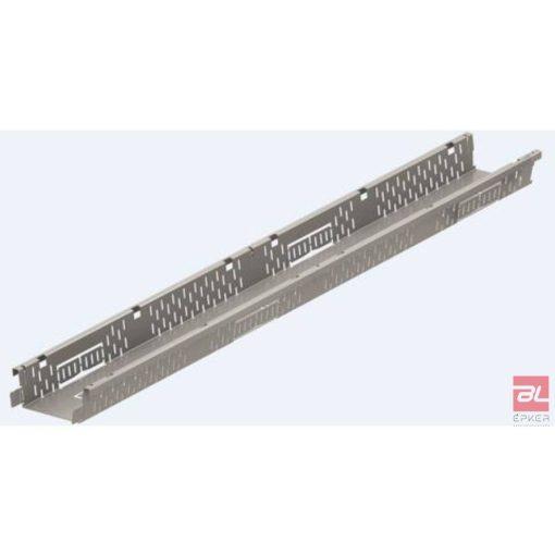 SELF Highline rozsdamentes acél folyóka fix 75mm magasságban, H=500mm