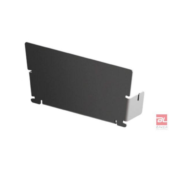 SELF Highline rozsdamentes acél homloklap fix 500mm.