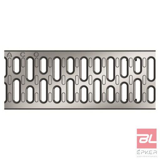 V100 A 15 horganyzott acél bordás rács, 1 fm