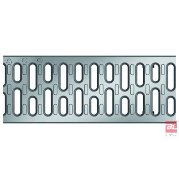 V100 A 15 horganyzott acél bordás rács, 0,5 fm