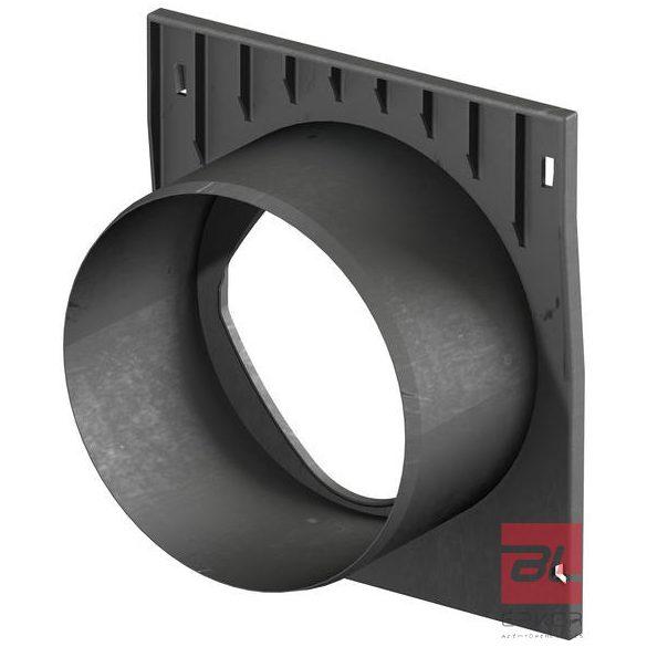 X200C homloklap DN 200 műanyag H=26,5