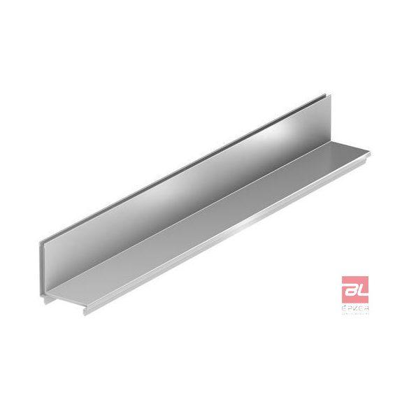 Réskeret rozsdamentes acélból, résmagasság 40 mm, L=850 mm