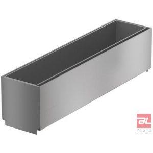 Tisztító elem rozsdamentes acélból, résmagasság 40 mm, L=150 mm