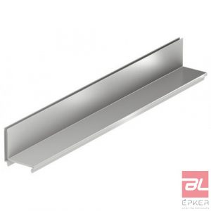 Réskeret rozsdamentes acélból, résmagasság 105 mm, L=500 mm