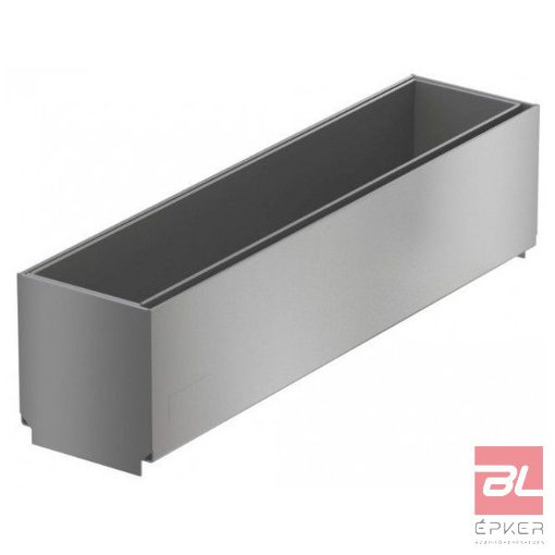 Tisztító elem rozsdamentes acélból, résmagasság 105 mm, L=500 mm