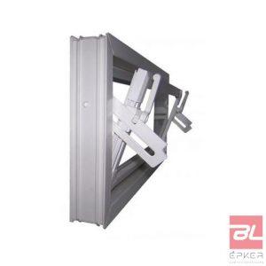 SELF bukó ablak, 100x50 cm, egyszerű űvegezéssel