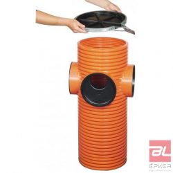 Opti-control akna homokfogóval, DN 315